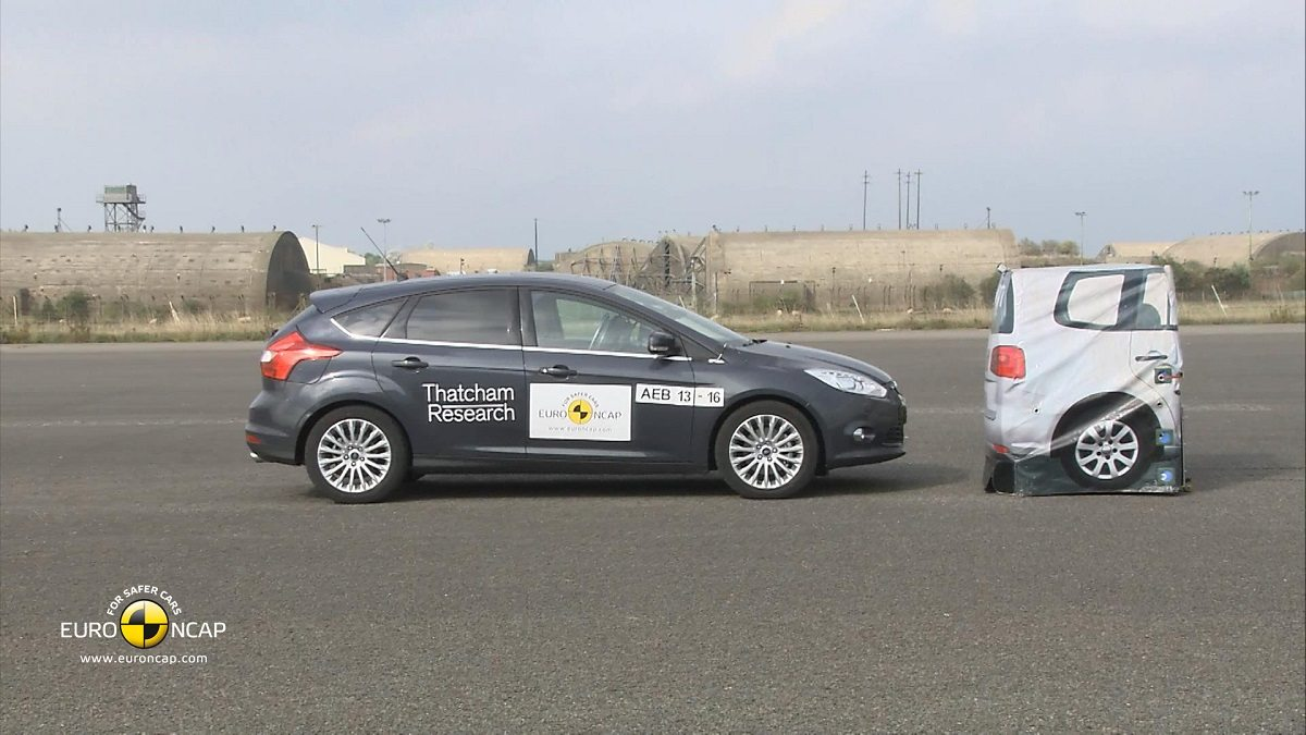 Ford Focus - AEB Tests