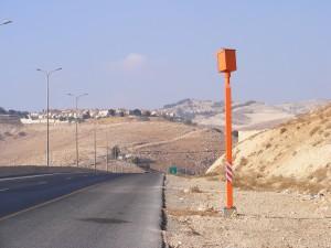 מצלמת מהירות בכביש מס' 1