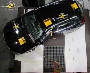 Mercedes-Benz GLA-Class  Euro NCAP 2