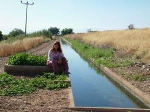 תעלות המים בעמק בית שאן