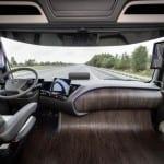 מרצדס משאית העתיד 2025 תא נהג