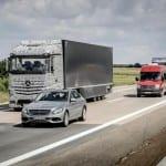 מרצדס משאית העתיד 2025 שלב ניסוי