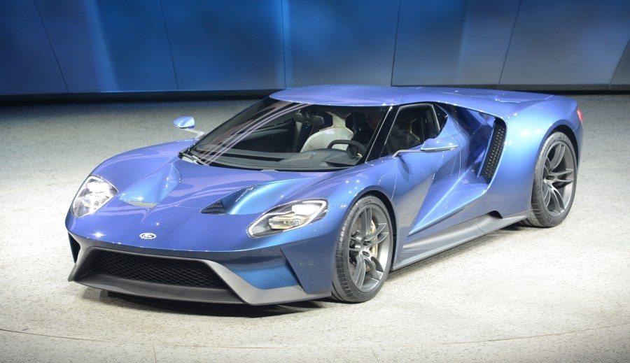 פורד GT מלפנים