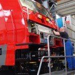 קטר חשמלי של בומברדייה מפעל הרכבה