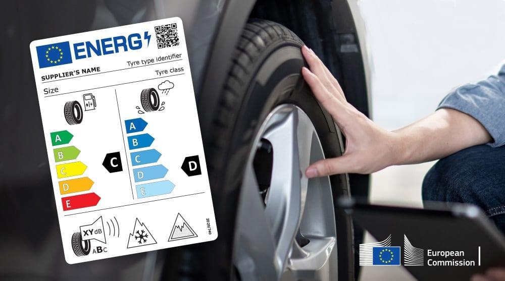 שיטת סימון חדשה לצמיגי רכב באירופה 2021