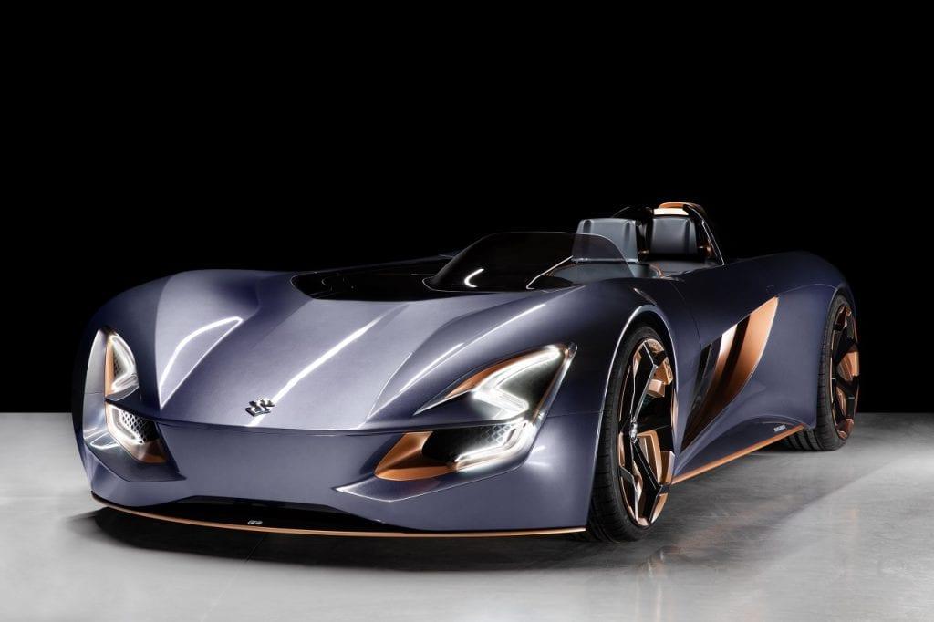 סוזוקי מיסאנו היא מכונית תצוגה מהממת