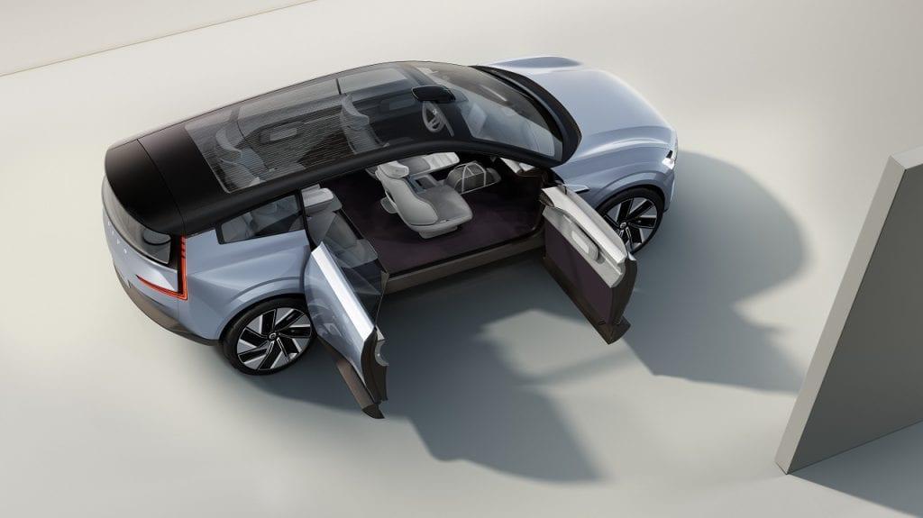 המכונית החשמלית הטהורה של וולוו תציע טווח גדול וזמני טעינה מהירים