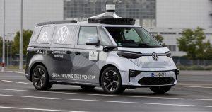 פולקסווגן וארגו חשפו את הרכב האוטונומי BUZZ AD
