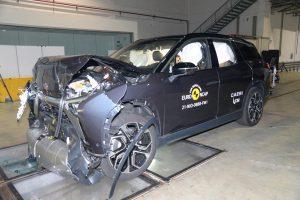 מכוניות סיניות חשמליות מככבות במבחני הריסוק האירופאים
